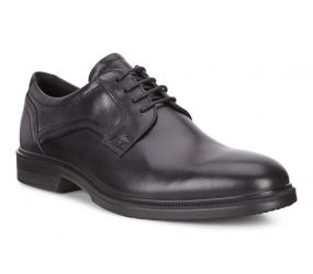Ecco - Lisbon Plain Toe Tie Black