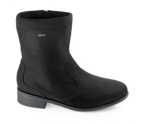Ara - Dallas Black Leather Motorcycle Boot