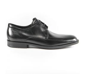 Ecco - Edinburgh Black Santiago Bike Toe Tie