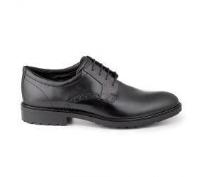 Ecco - Vitrus I Plain Toe Tie Black