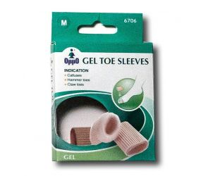 Oppo Medical - Gel Toe Sleeves - 3 Pack