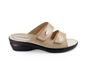Goldstar - Tortora Two Strap Sandal