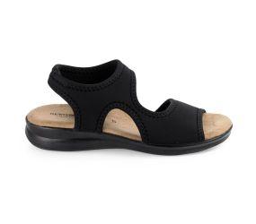 Goldstar - Black Lycra Sandal