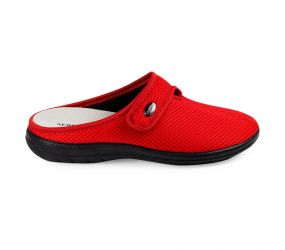 Goldstar - Red Fabric Clog
