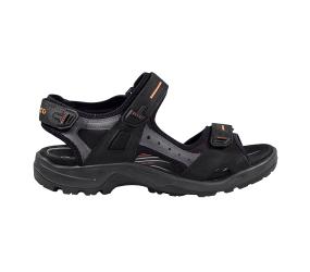 Ecco Yucatan Sandal Black/Mole