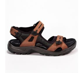 Ecco Yucatan Sandal Bison/Mineral