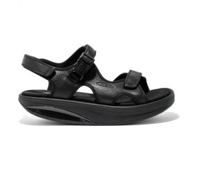 MBT - Men's Kisumu 3S Black Sandal