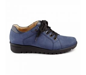 Hartjes - XS Sharky Navy Nubuck Oxford