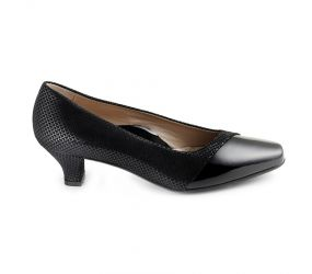 Beautifeel - Laverne Black Shiny Scale Pump