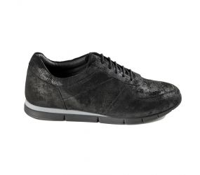 Marc - Lotta Black Suede Oxford