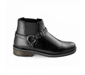 Marc - Lorella Black Short Boot