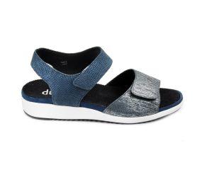 Durea - Black Quarter Strap Sandal