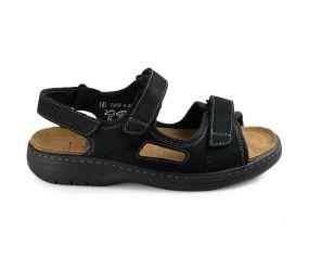 Solidus - Man Special Black Sandal