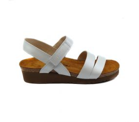 Naot - Kayla White Pearl Leather Sandal