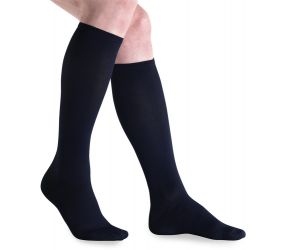 Jobst Travel Sock 15-20 Black Size #4