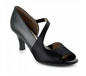 Beautifeel - Laurita Black Mesh Suede