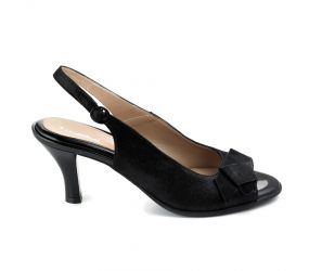 Beautifeel - Katerina Black Mesh Suede