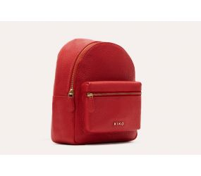 Kiko Leather - Itty Bitty Backpack - Red