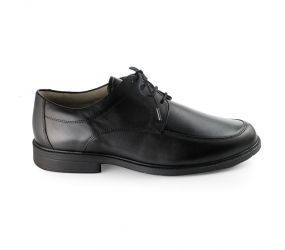 Solidus - Henk Black Moc Toe Oxford Stretch K