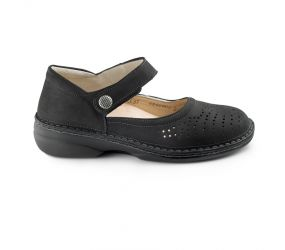 Finn Comfort - Bellevue Black Buggy MJ