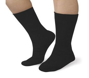 Care Sox - Black Small