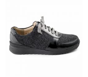Finn Comfort - Sidonia Black/Anthracite Oxford