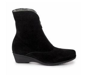 La Canadienne - Evitta Black Suede Boot