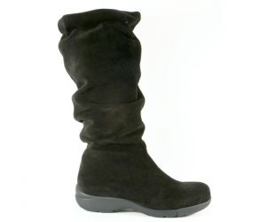 La Canadienne - Trevis Black Suede Boot