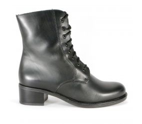 La Canadienne - Palmina Black Leather Boot