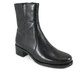 La Canadienne - Perla Black Leather Boot