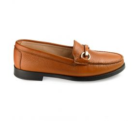 Vittoria Mengoni - VM Bit Loafer Tan Leather