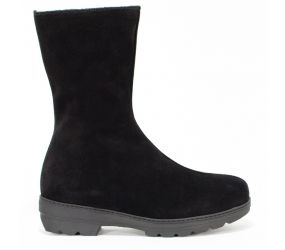 La Canadienne - Vogue Black Suede/Shearling
