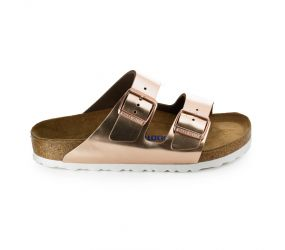 Birkenstock - Arizona Soft Metallic Copper