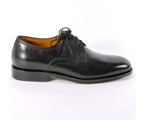 Attiva - Black Leather Plain Toe