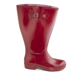 JJ Footwear - Welly Boot Red 4X-5X