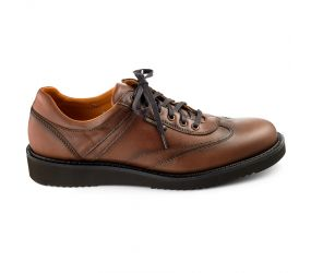 Mephisto - Adriano Chestnut Leather Oxford