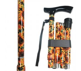 Vista International - Adj Travel Cane - Sunflower