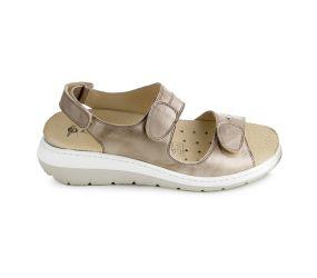 J. Metayer - Anaco Beige Leather Sandal