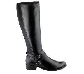 Regarde Le Ciel - Annette 06 Black Tall boot