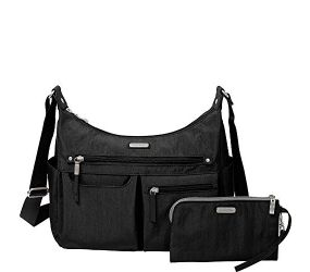 Baggallini - Anywhere Large Hobo RFID Black