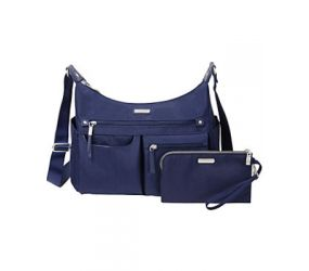 Baggallini - Anywhere Large Hobo RFID Navy