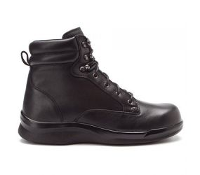 "Apex Biomechanical 6"" Lace-Up Men's Work Boot - Black"