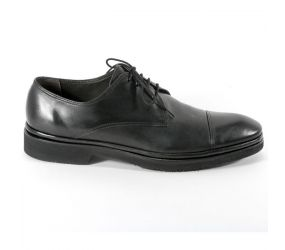 Attiva - Black Leather Cap Toe