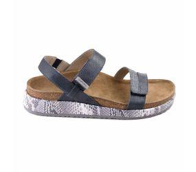 Aetrex - Bethany Navy Multi Sandal