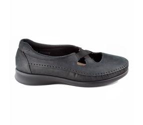 Sas Shoemakers - Crissy Nero Nubuck
