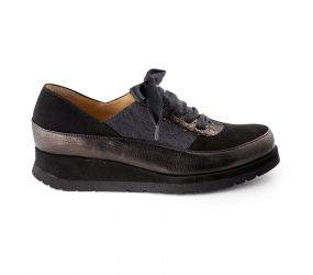 Brunate - Black Epoque/Suede Oxford