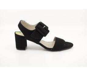 Dorking - Genil Black Suede Sandal