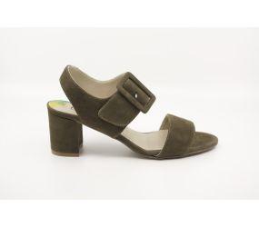 Dorking - Genil Green Suede Sandal