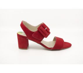 Dorking - Genil Red Suede Sandal
