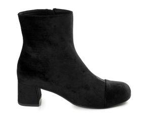 Aetrex - Celine Black Velvet Pant Boot